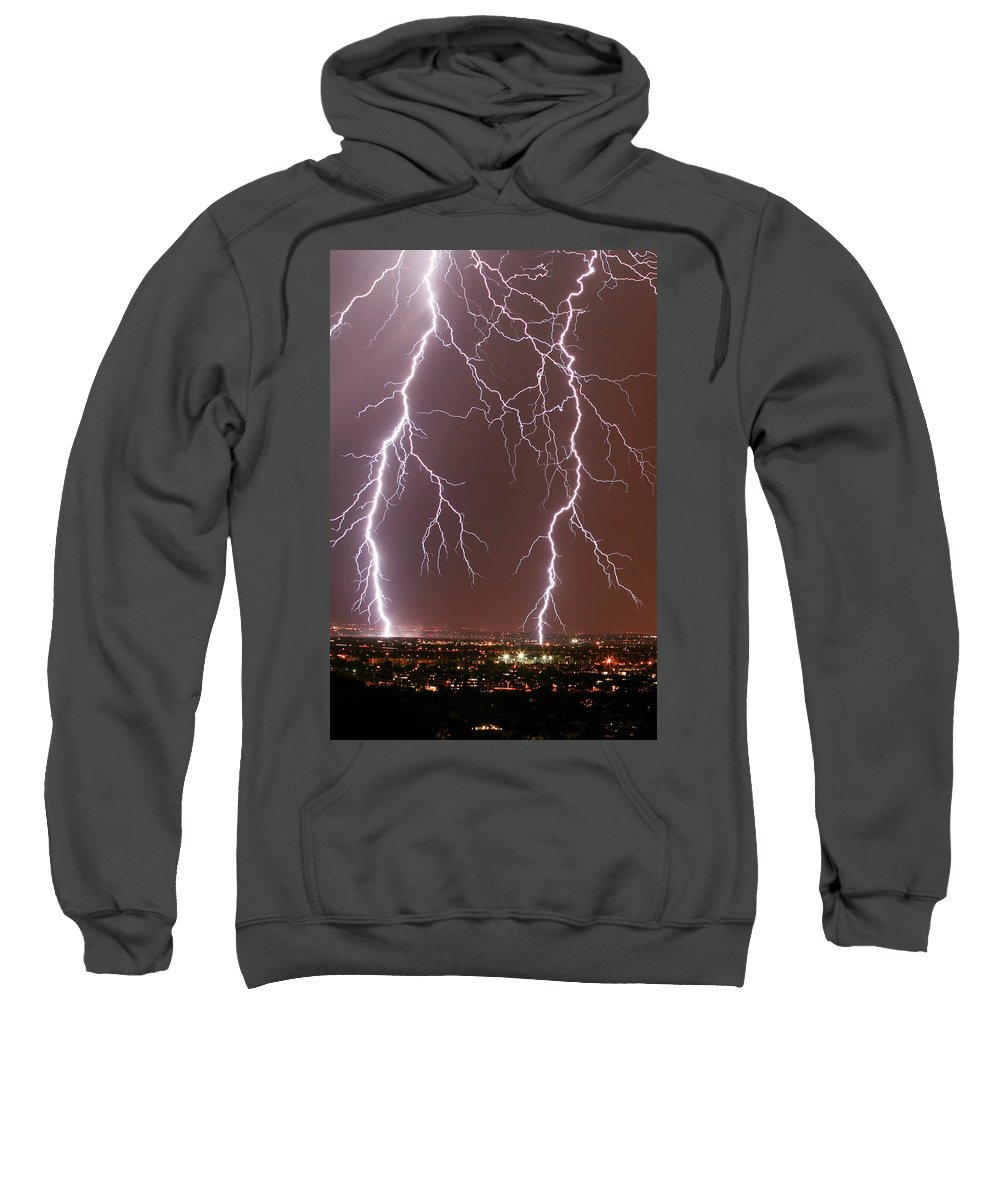 Usa Sweatshirt featuring the photograph Sidekicks by Cathy Franklin