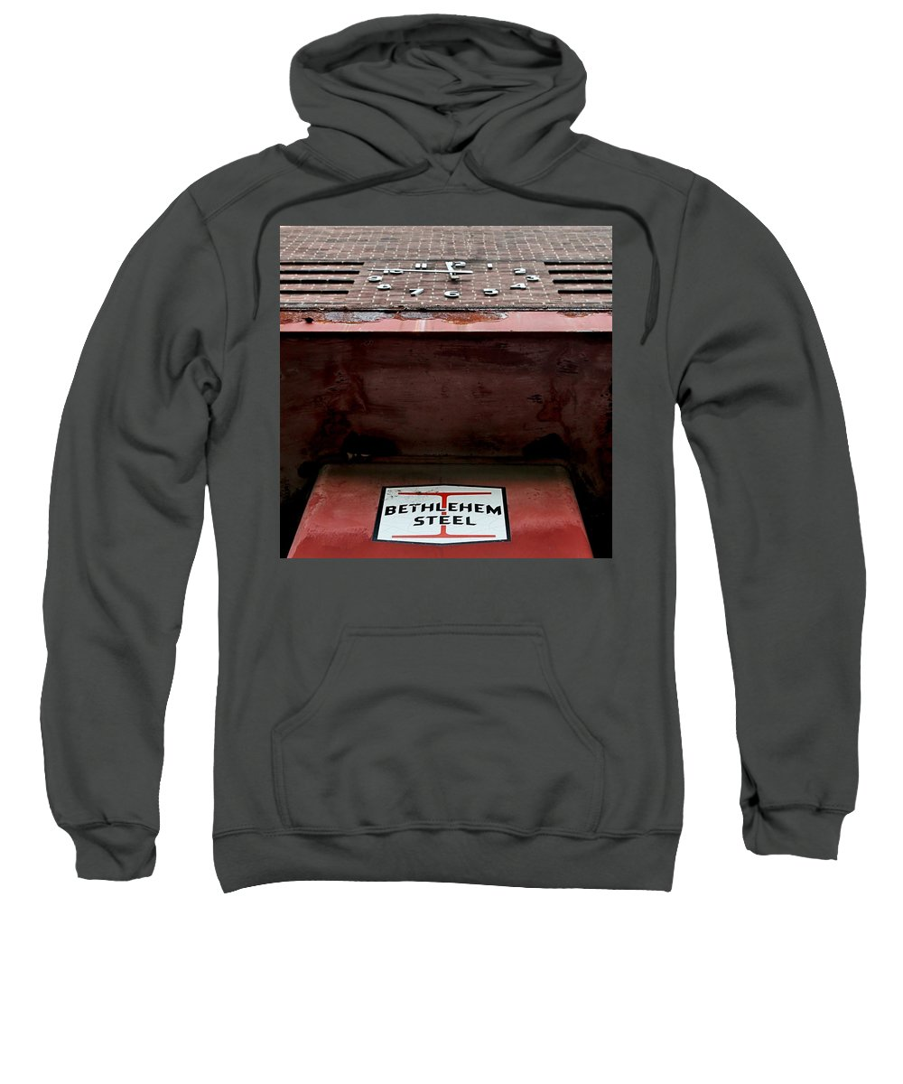 Bethlehem Sweatshirt featuring the photograph Timesover by DJ Florek