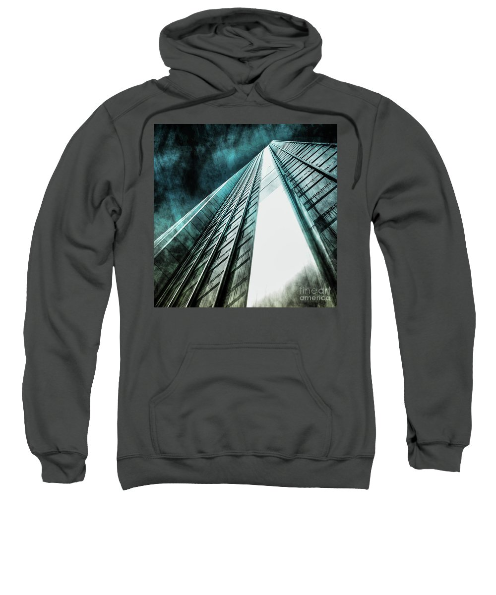 American Sweatshirt featuring the photograph Urban Grunge Collection Set - 09 by Az Jackson