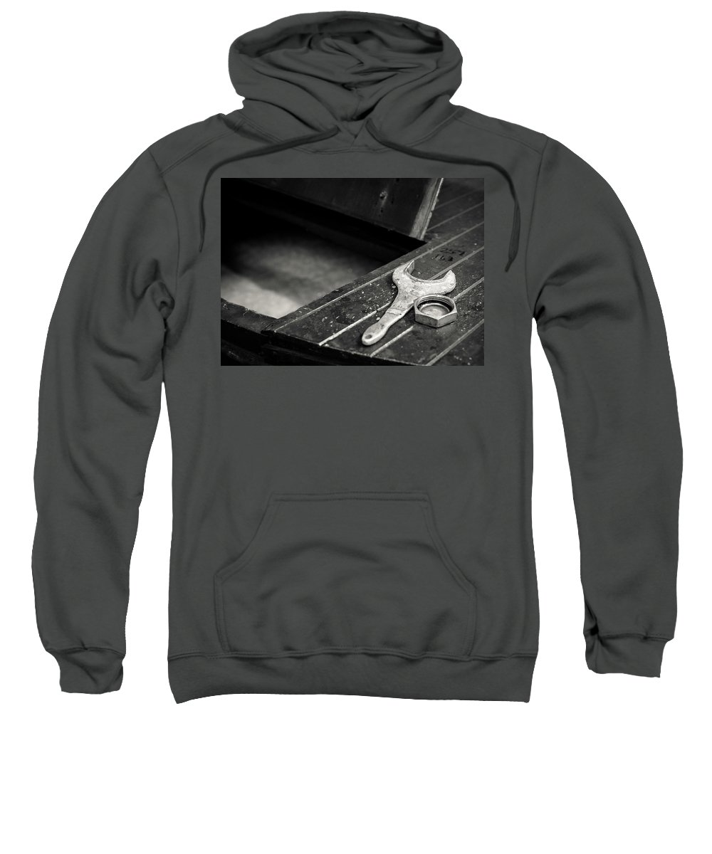 Mono Sweatshirt featuring the photograph Whisky Distillery No8 by Dave Bowman