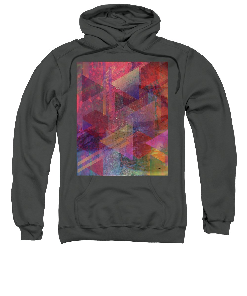 Another Place Sweatshirt featuring the digital art Another Place by John Robert Beck