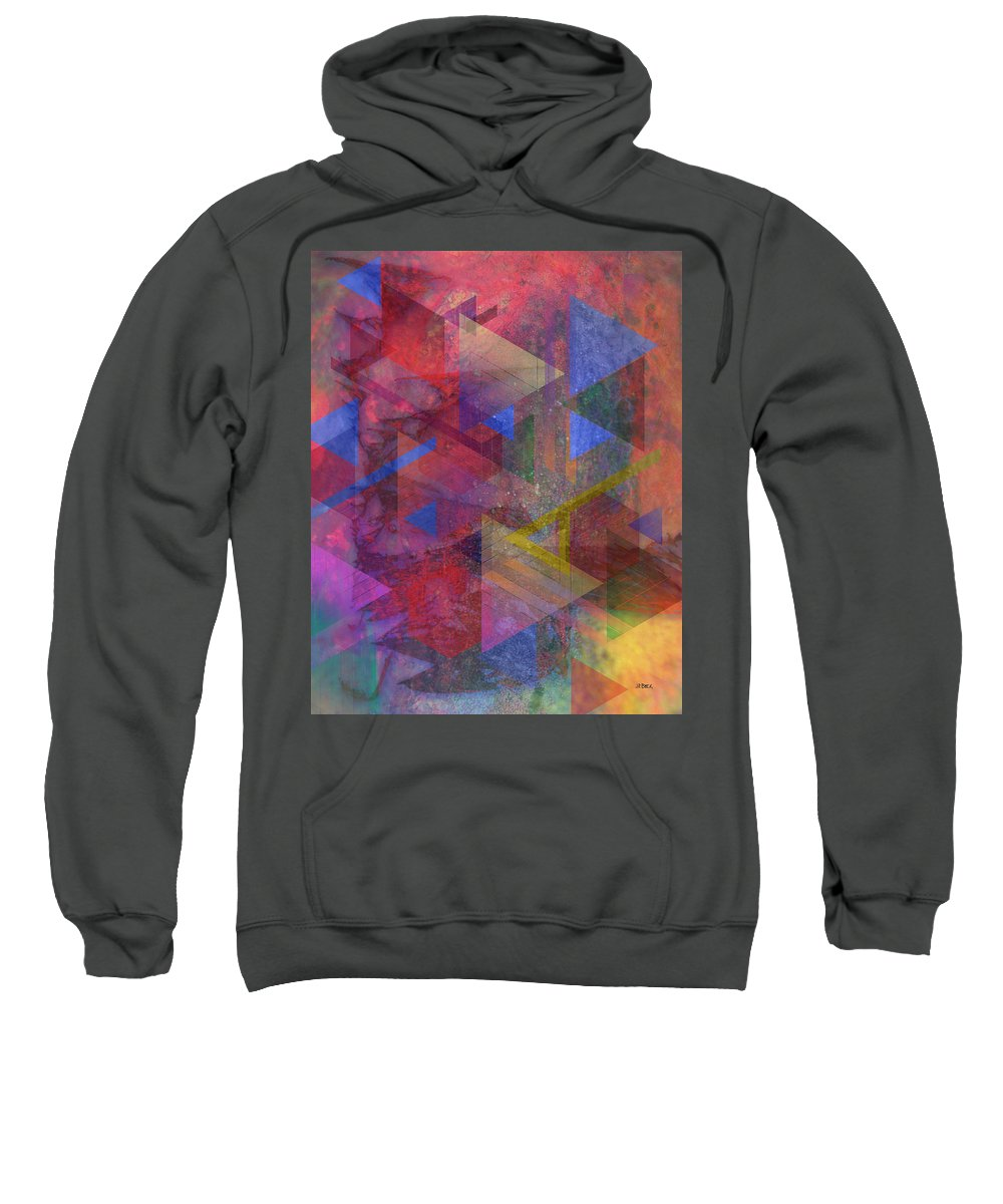 Another Time Sweatshirt featuring the digital art Another Time by John Robert Beck