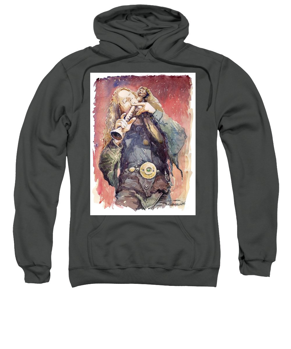 Watercolour Sweatshirt featuring the painting Varius Coloribus Nils Inspired by Yuriy Shevchuk