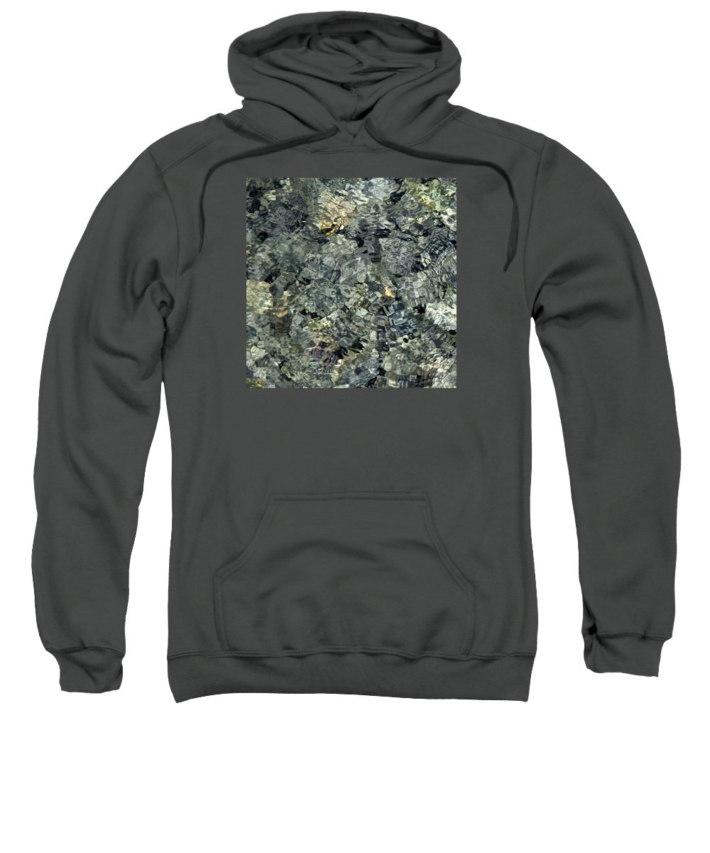 Water Sweatshirt featuring the photograph Water Rocks 1 by Andre Aleksis