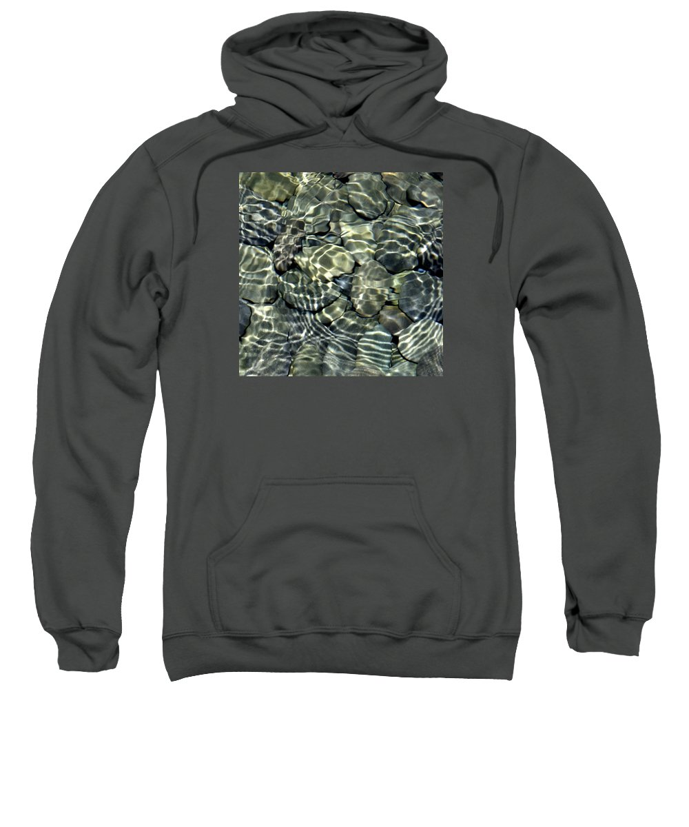 Water Sweatshirt featuring the photograph Water Rocks 2 by Andre Aleksis