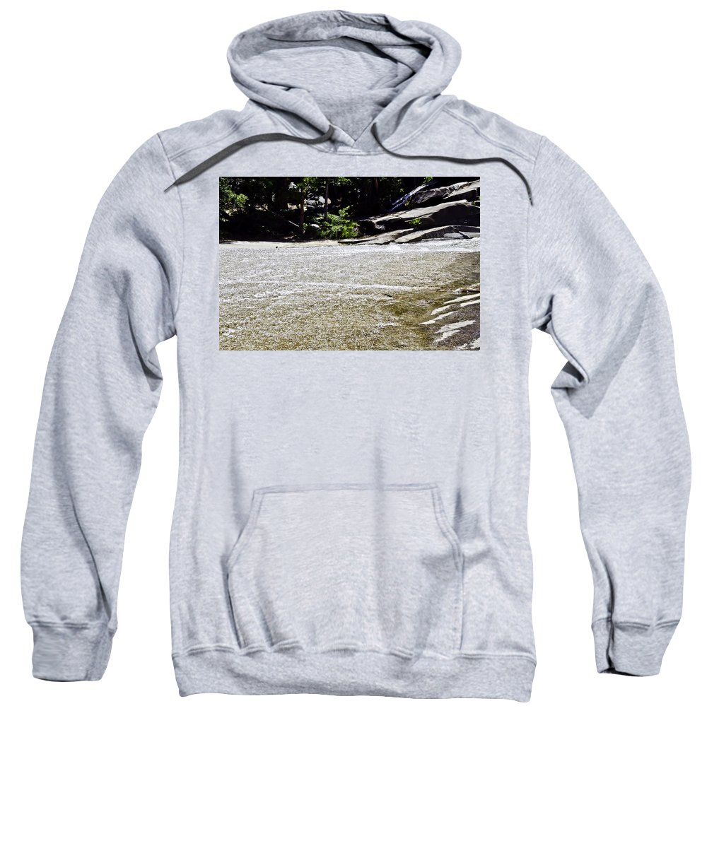 Water Sweatshirt featuring the photograph Granite River by Brian Williamson