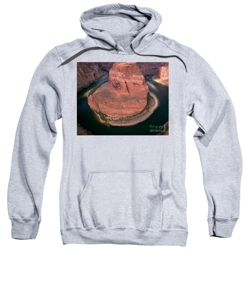 Arizona Sweatshirt featuring the photograph Horseshoe Bend by Tracy Knauer