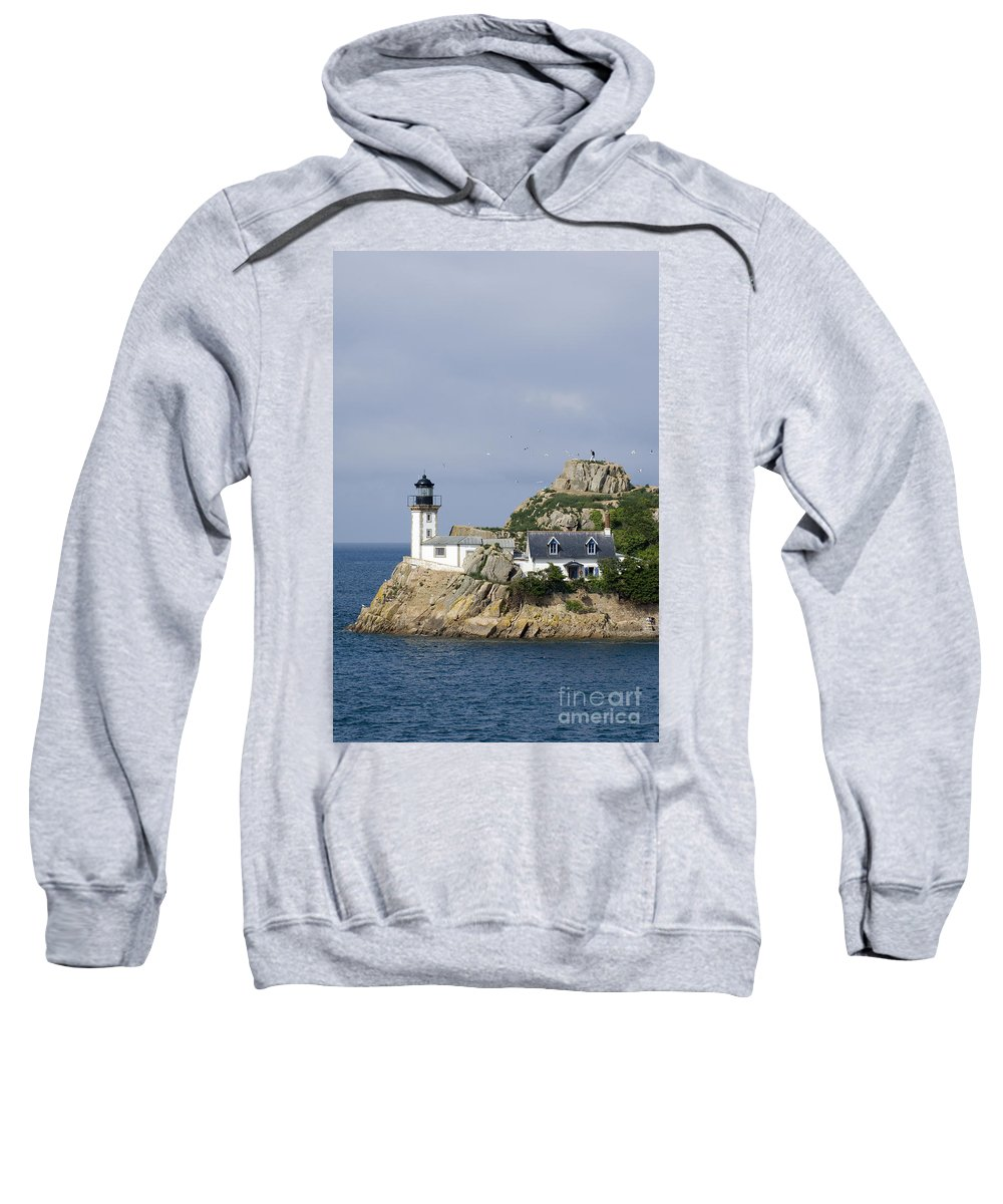 Lighthouse Sweatshirt featuring the photograph 080710p038 by Arterra Picture Library