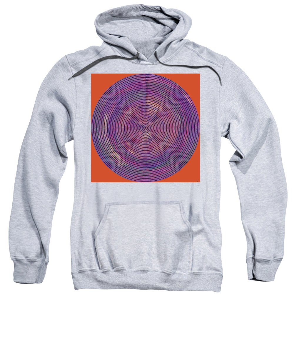 Abstract Sweatshirt featuring the digital art 0965 Abstract Thought by Chowdary V Arikatla