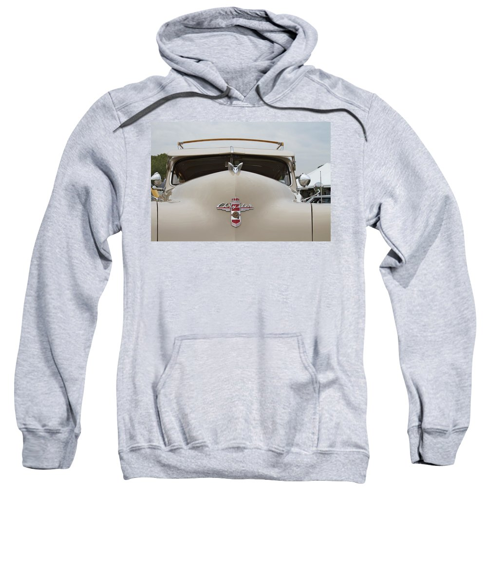 Antique Sweatshirt featuring the photograph 1947 Chrysler by Jack R Perry
