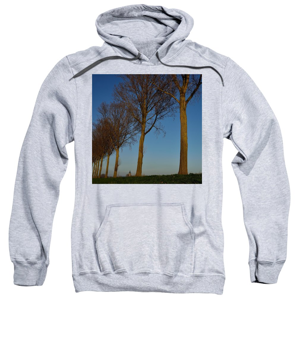 Architecture Sweatshirt featuring the photograph A View Of Pottes by TouTouke A Y