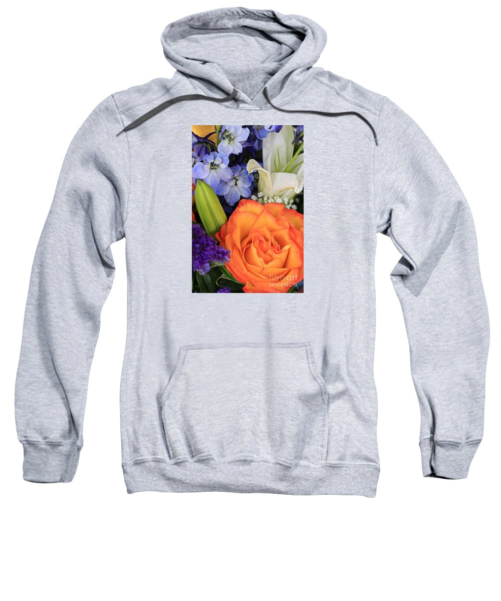 Bouquet Sweatshirt featuring the photograph Beautiful Bouquet by Carol Groenen