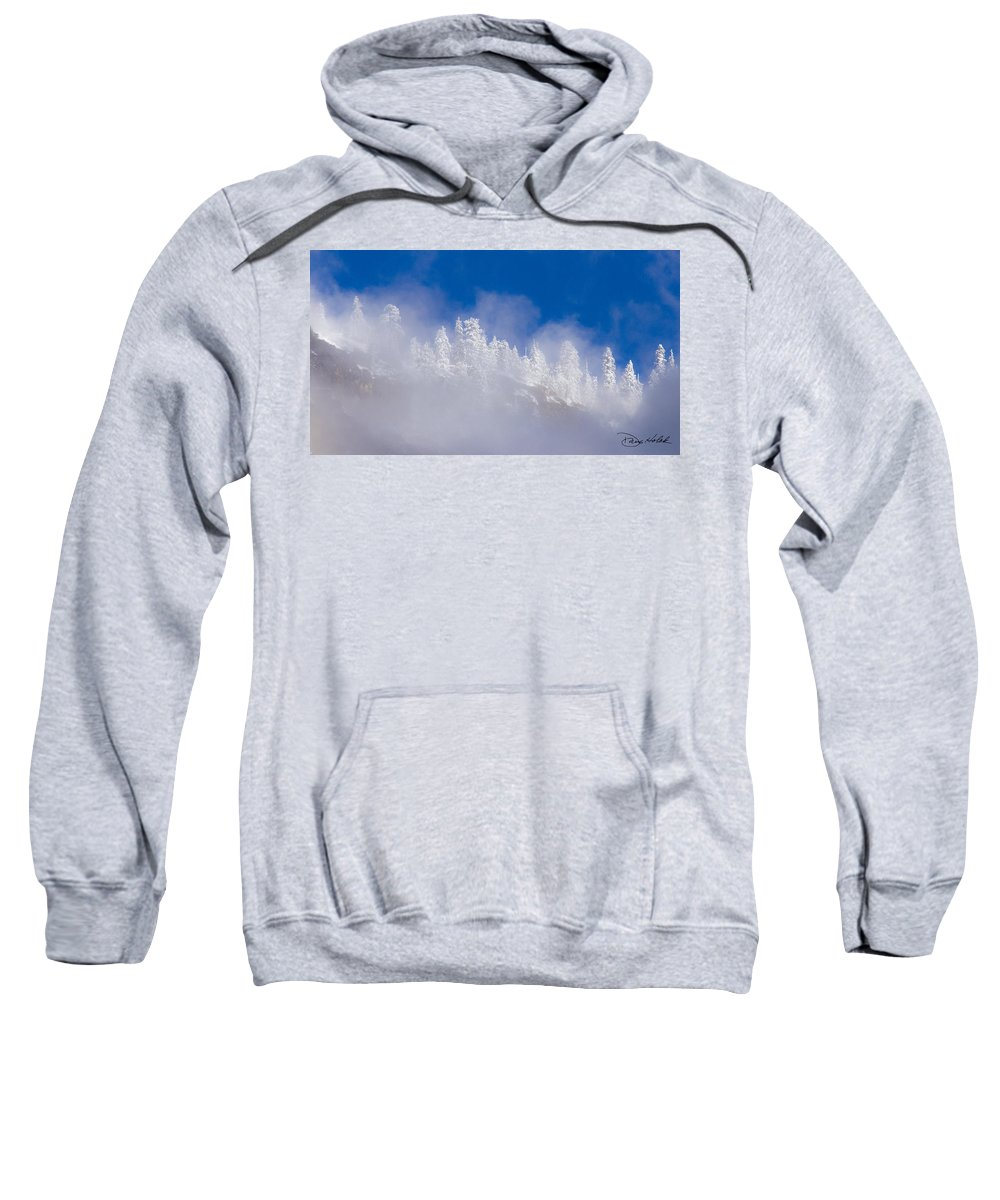 Yosemite Sweatshirt featuring the photograph Between Heaven And Earth by Doug Holck