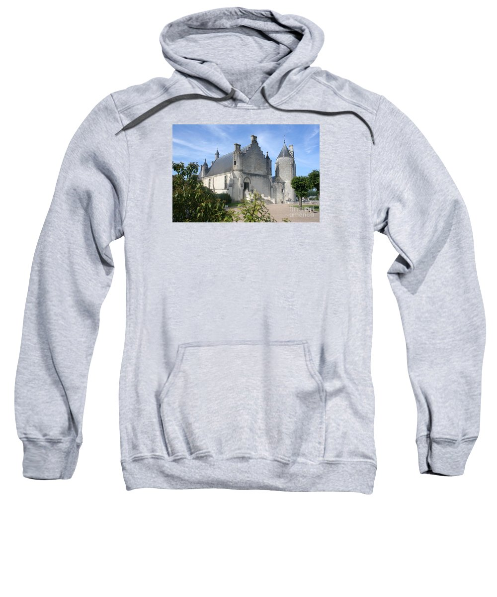 Castle Sweatshirt featuring the photograph Castle Loches - France by Christiane Schulze Art And Photography