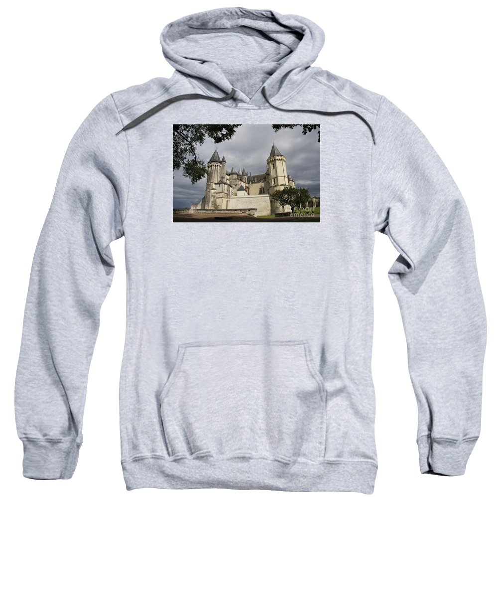 Castle Sweatshirt featuring the photograph Chateau Saumur by Christiane Schulze Art And Photography