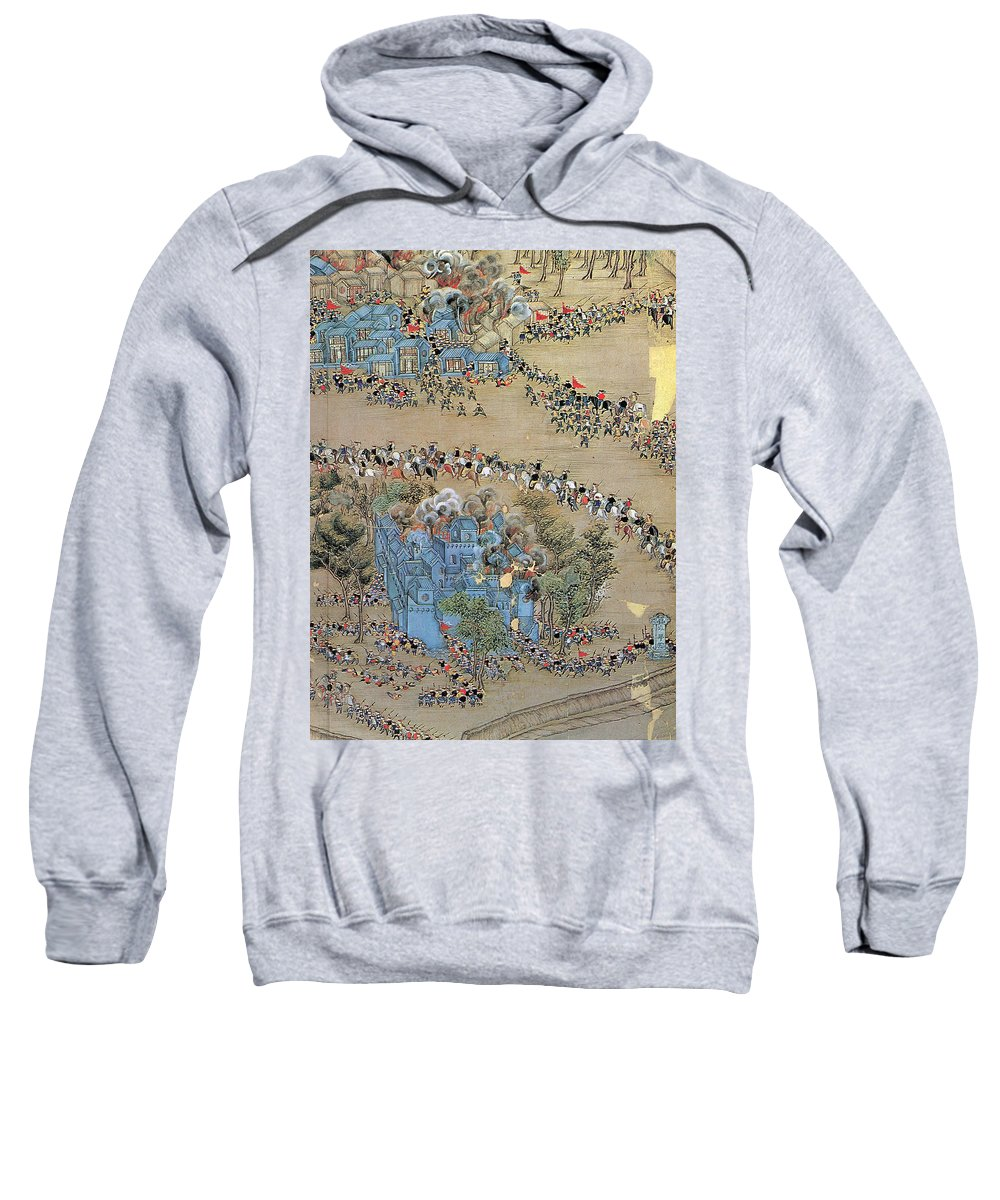 1850s Sweatshirt featuring the painting China Taiping Rebellion by Granger