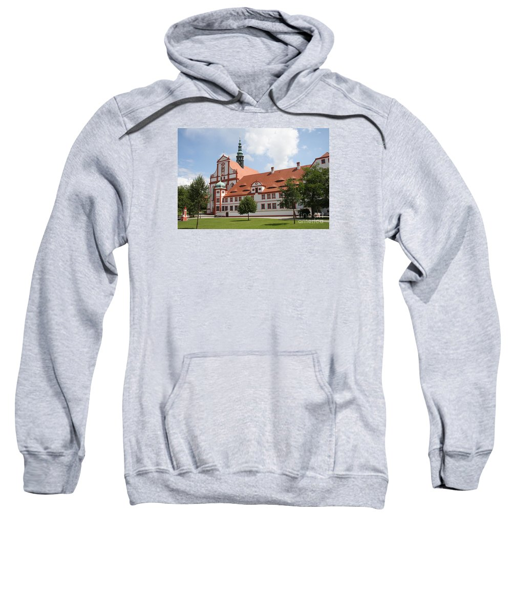 Cloister Sweatshirt featuring the photograph Cloister St. Marienstern by Christiane Schulze Art And Photography