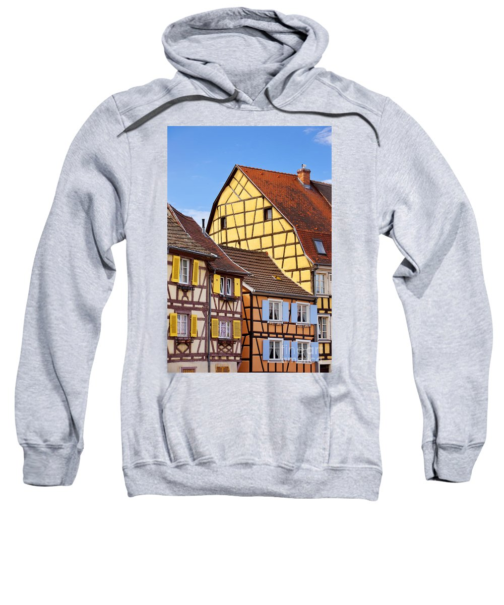 Colmar Sweatshirt featuring the photograph Colmar - Alsace by Brian Jannsen