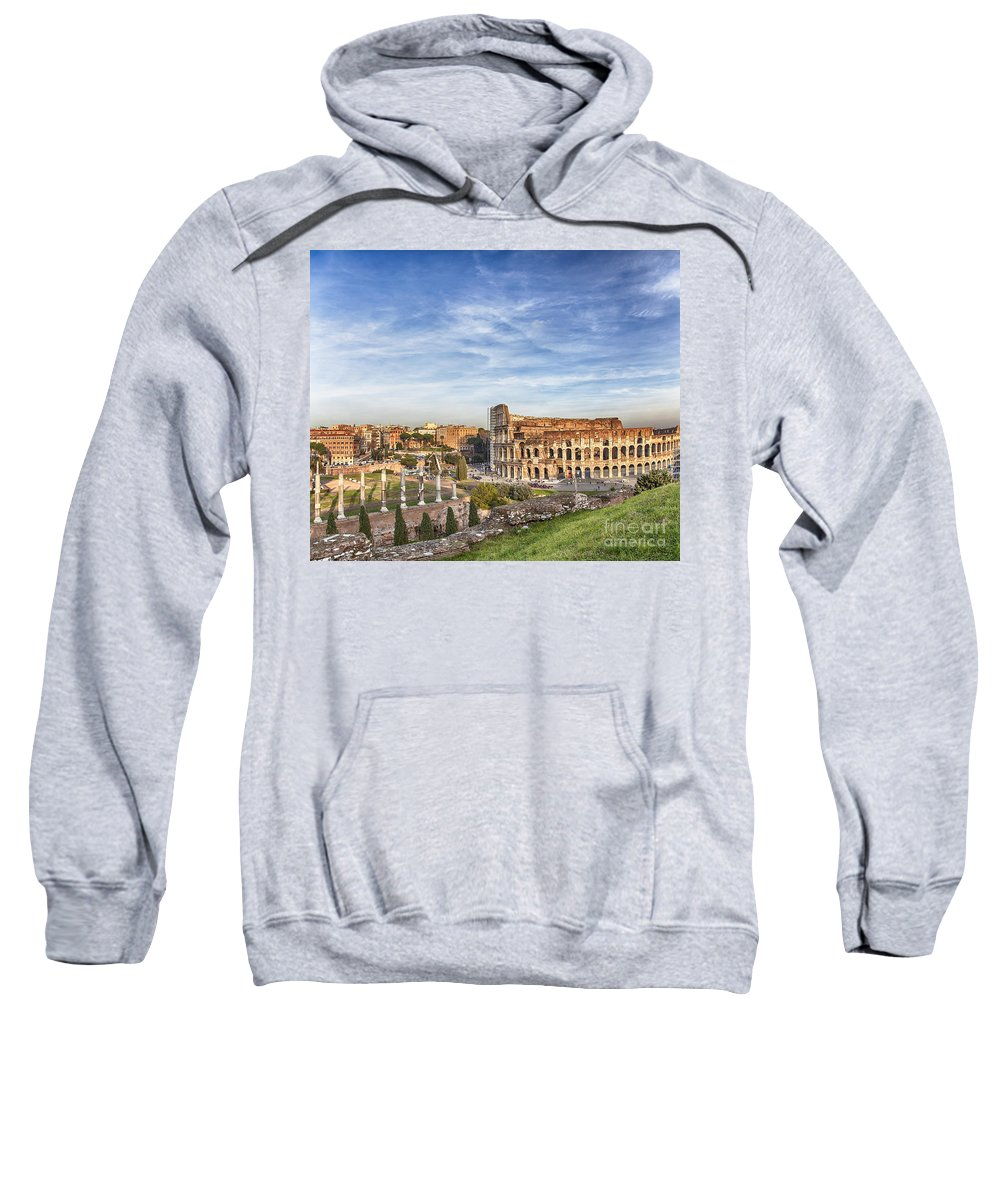 Rome Sweatshirt featuring the photograph Colosseum by Sophie McAulay