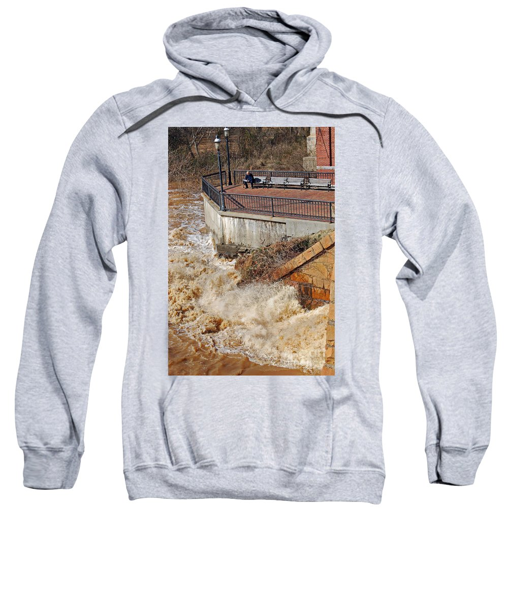 Scenic Tours Sweatshirt featuring the photograph Concentration by Skip Willits