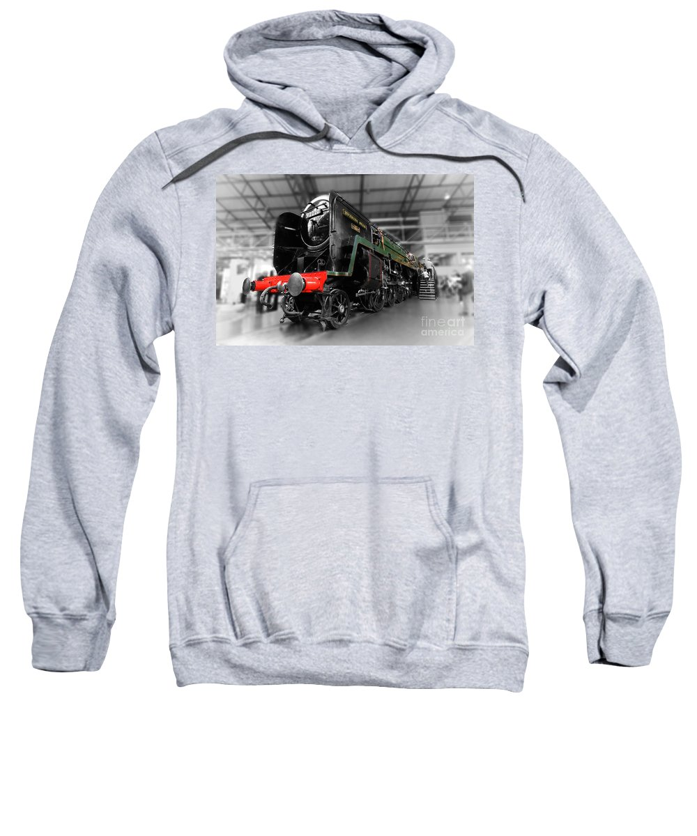 Evening Sweatshirt featuring the photograph Evening Star by Rob Hawkins