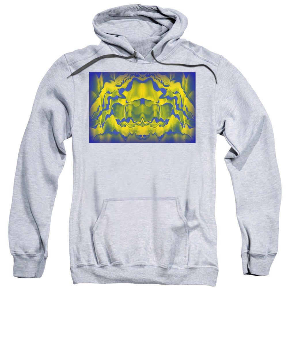 Original Sweatshirt featuring the painting Generations 1 by J D Owen