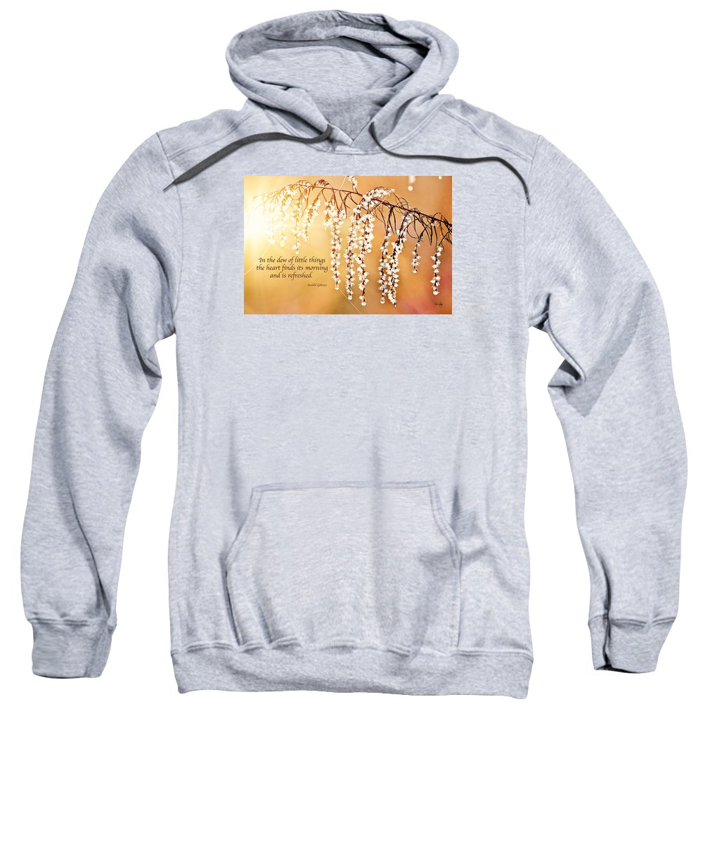 Morning Sweatshirt featuring the photograph Glorious Morning by Scott Pellegrin