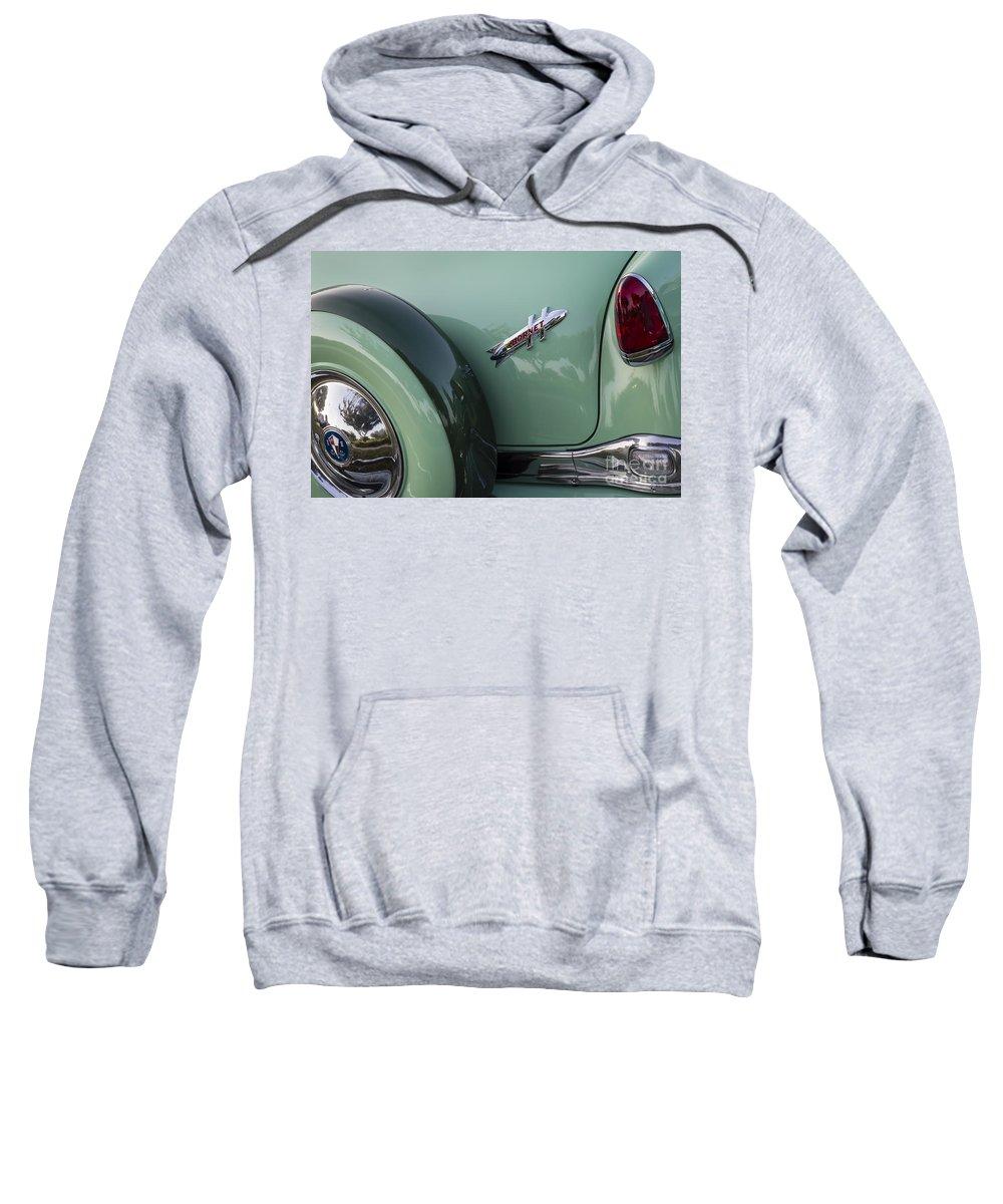1954 Hudson Sweatshirt featuring the photograph Hudson Hornet by Dennis Hedberg