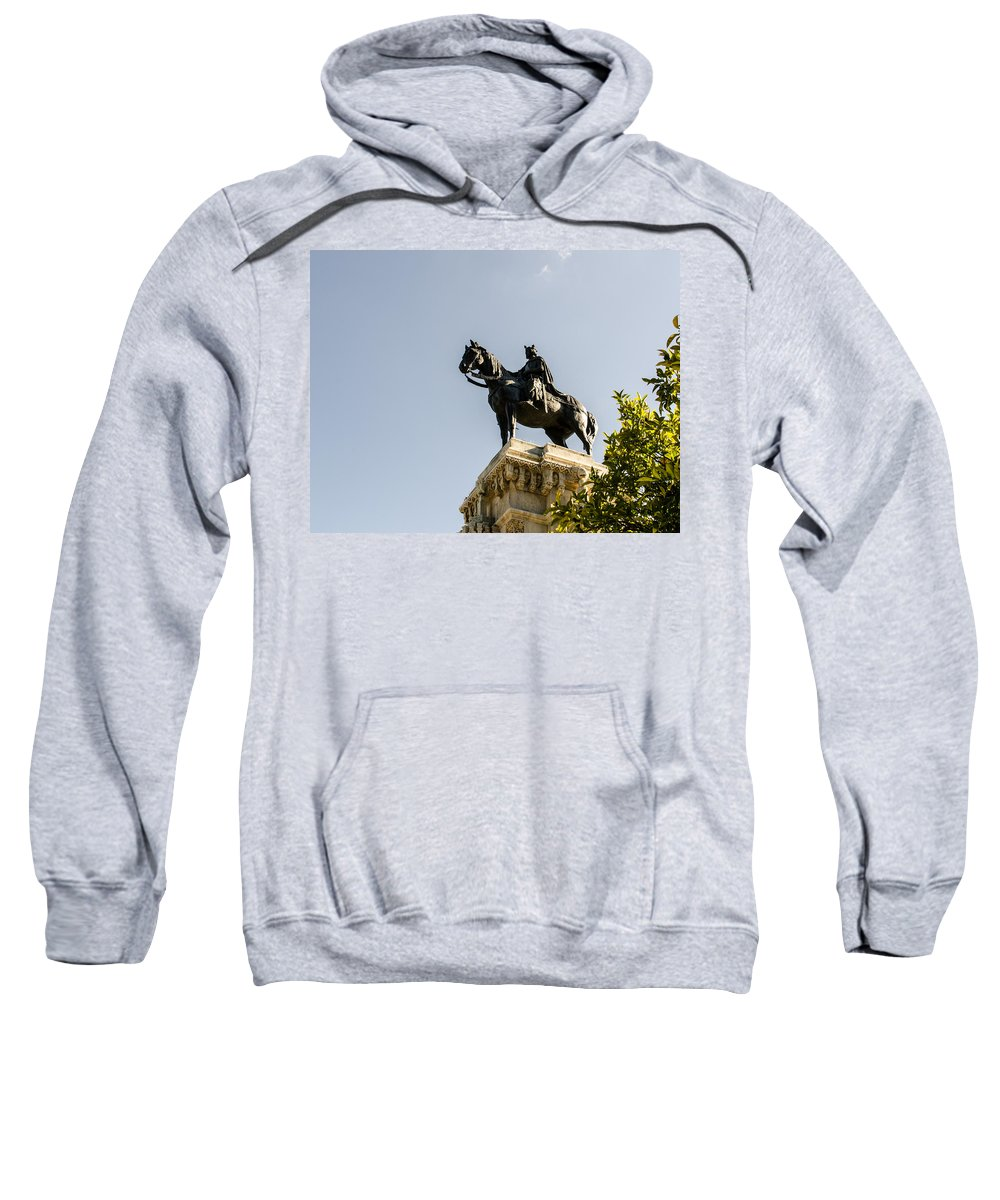 Monument Framed Prints Sweatshirt featuring the photograph Kingdom Come by Andrea Mazzocchetti