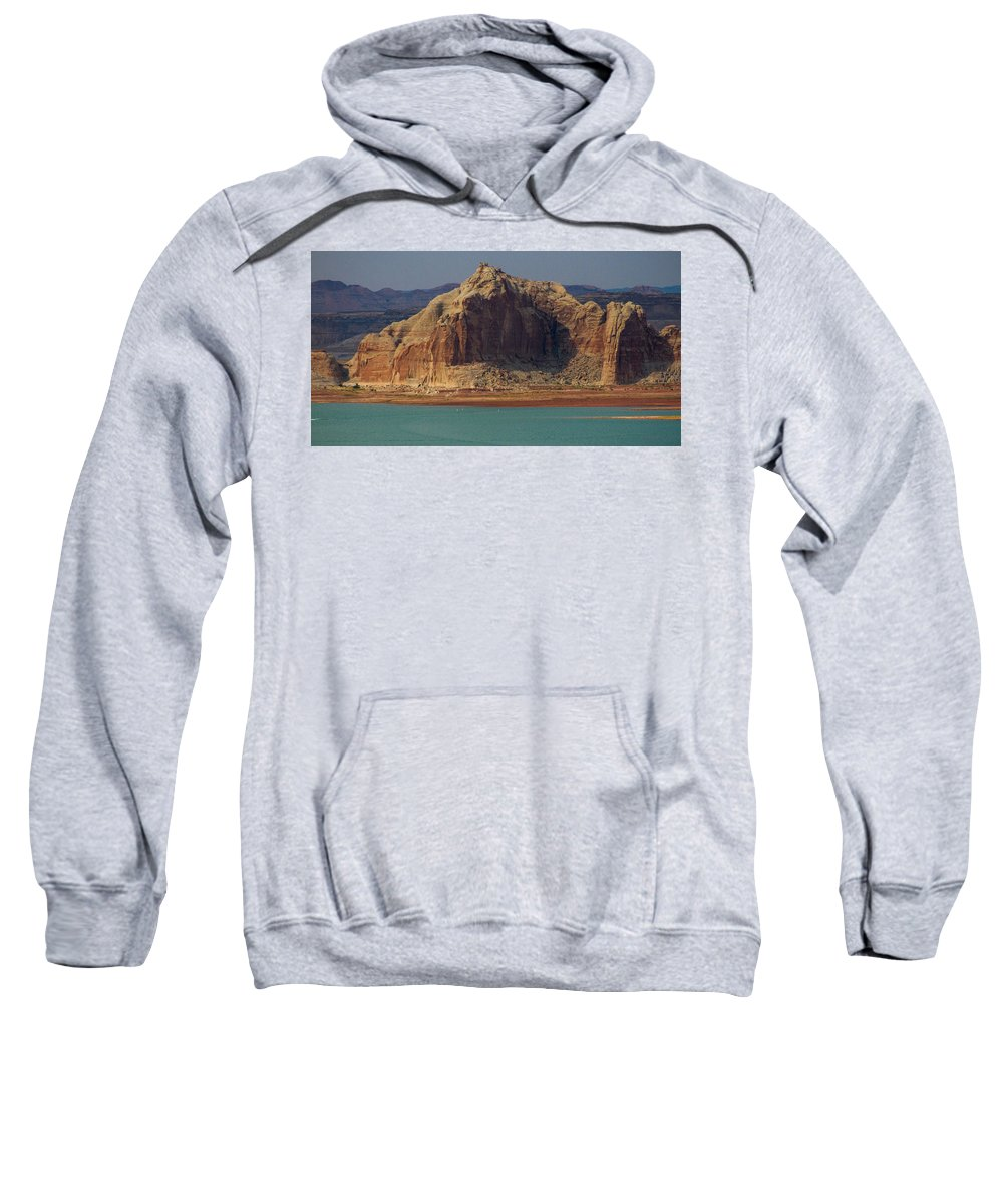 Lake Sweatshirt featuring the photograph Lake Powell by Kathleen Odenthal