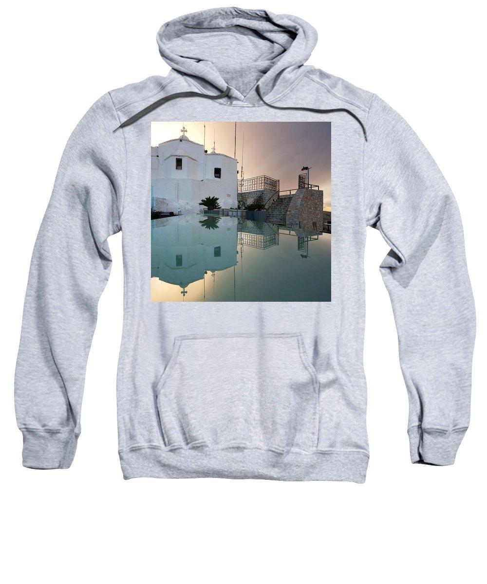 Mediterranean Sweatshirt featuring the photograph Likabetus by Milan Gonda