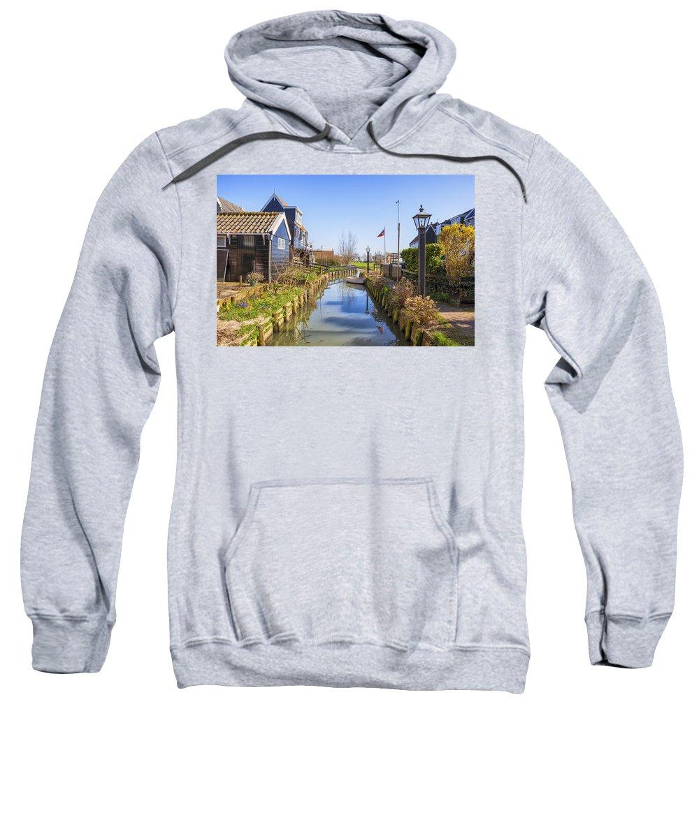 Marken Sweatshirt featuring the photograph Marken by Joana Kruse