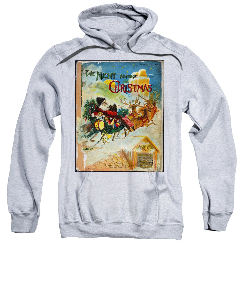 19th Century Sweatshirt featuring the photograph Night Before Christmas by Granger