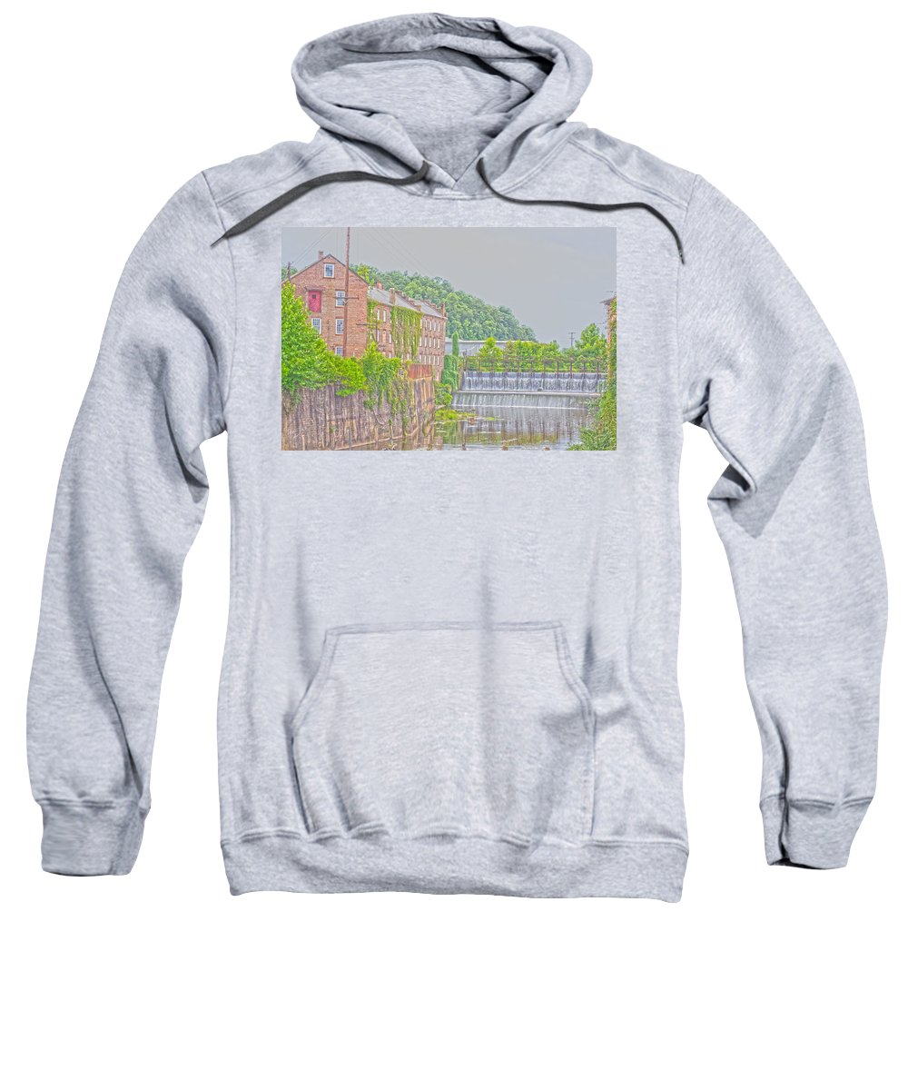 Hdr Sweatshirt featuring the photograph Prattville Hdr by Shannon Harrington