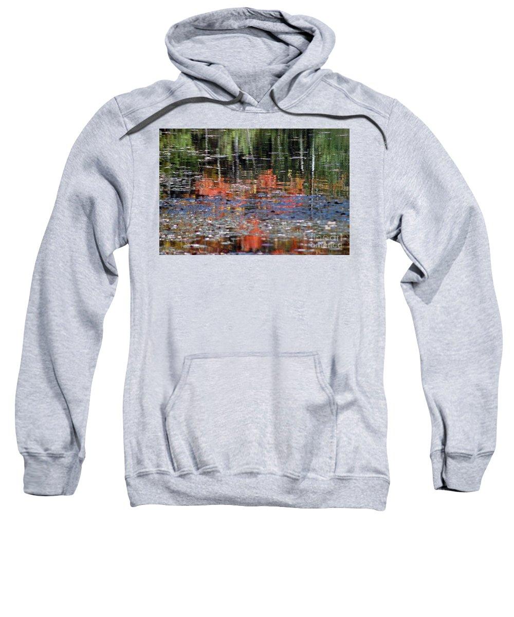 Fall Sweatshirt featuring the photograph Reflecting Fall by Joseph Yarbrough