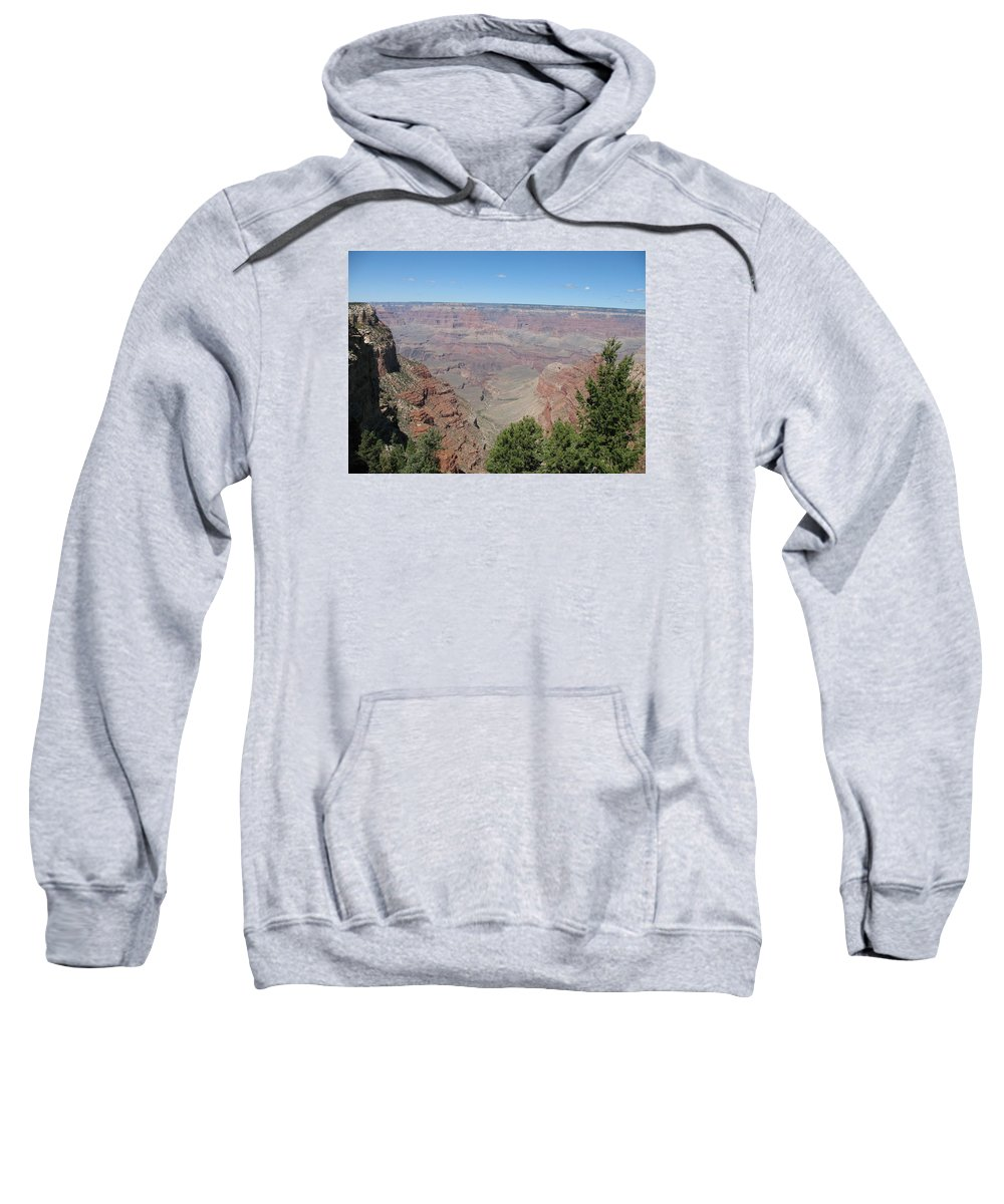 Canyon Sweatshirt featuring the photograph Scenic View - Grand Canyon by Christiane Schulze Art And Photography