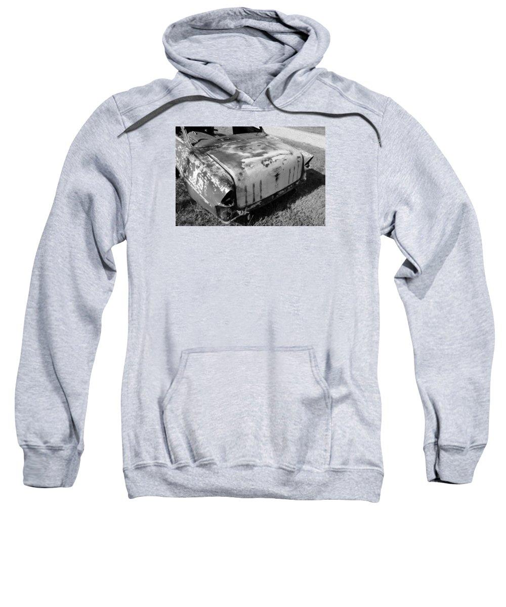 Man Made Sweatshirt featuring the photograph Seen Much Better Days by Glenn Aker