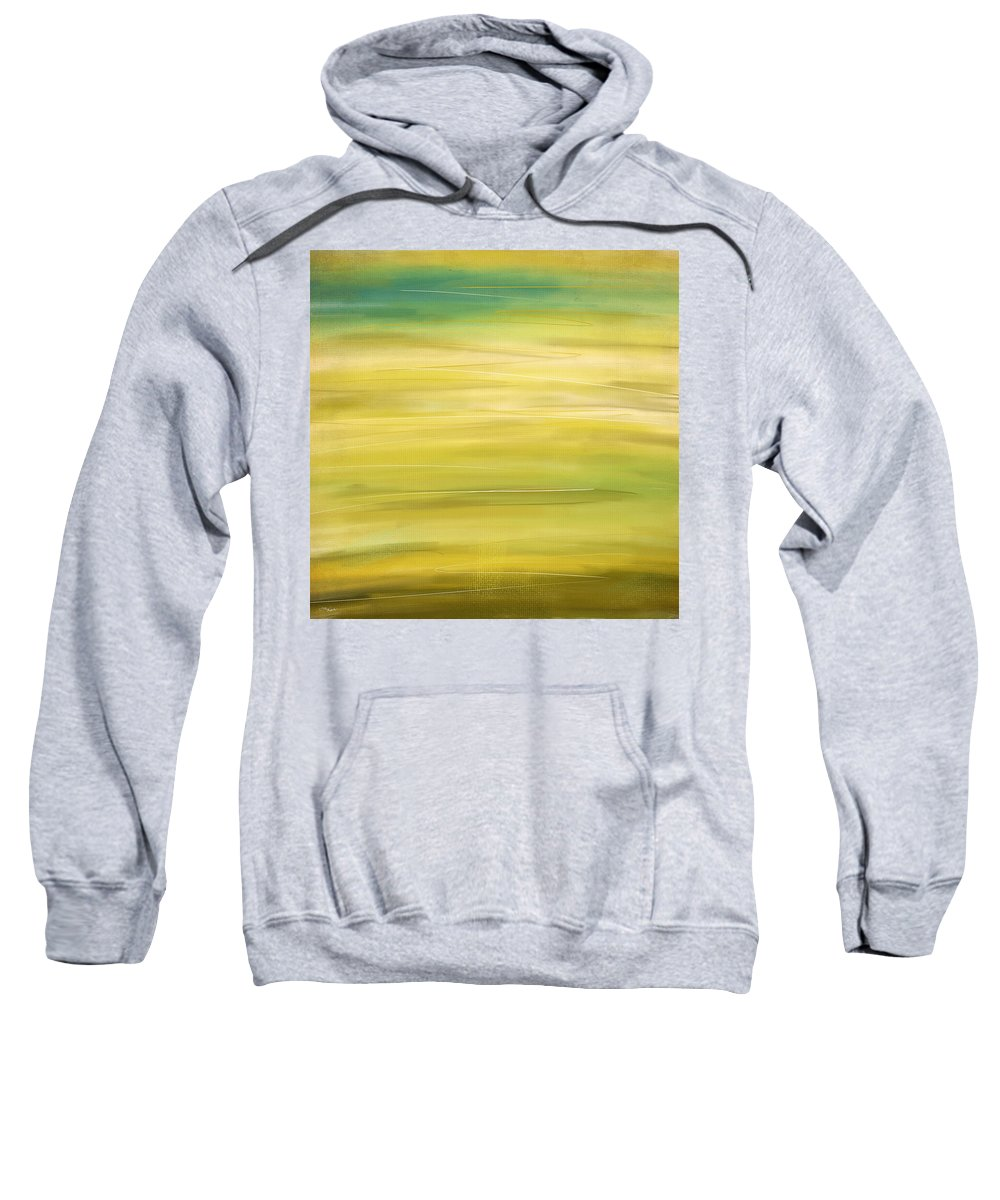 Four Seasons Sweatshirt featuring the digital art Spring by Lourry Legarde