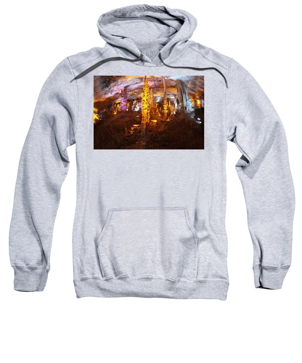 Cave Sweatshirt featuring the photograph Stalactite Cave by Doc Braham