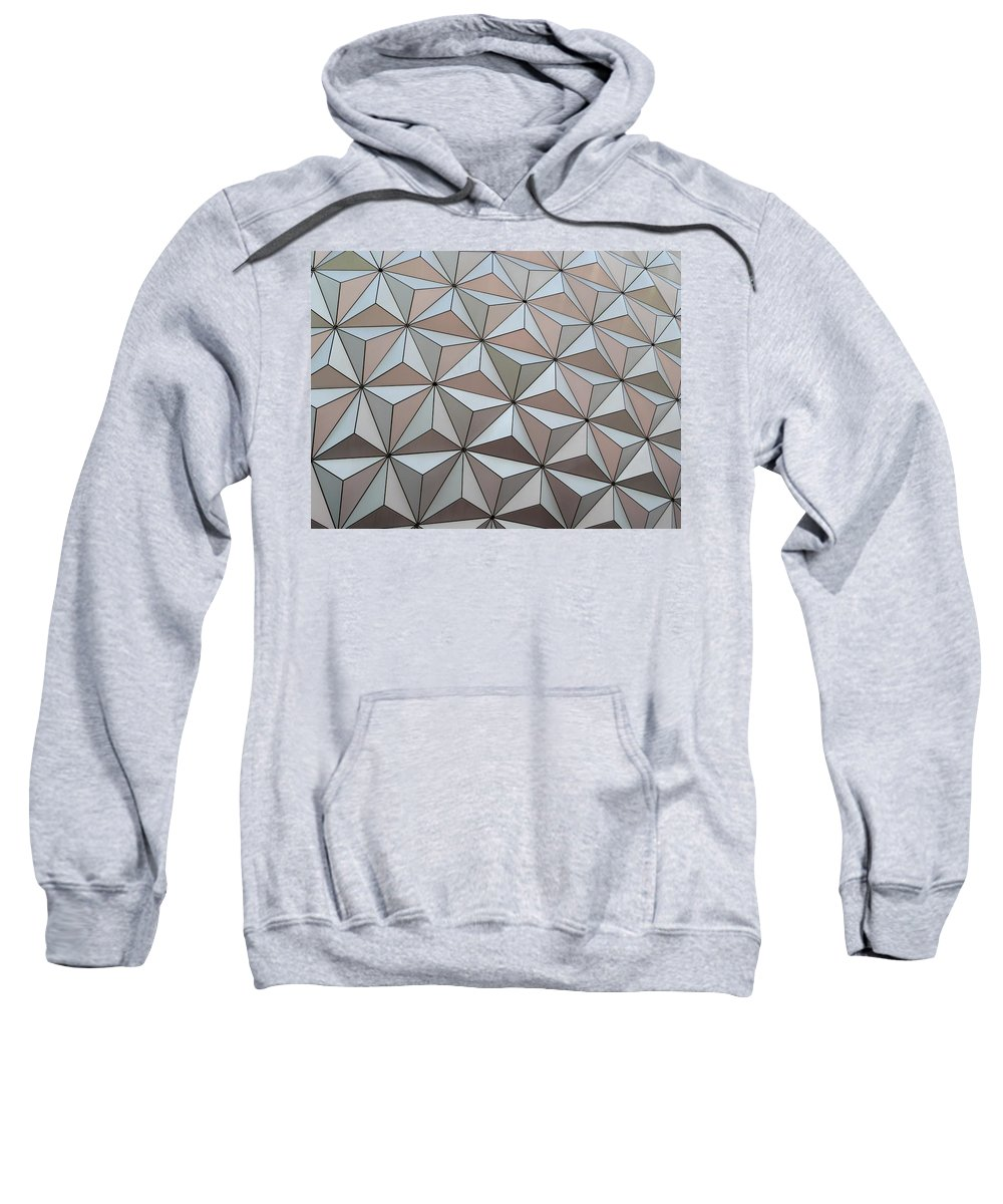 Color Sweatshirt featuring the photograph Sub Triangles by Amar Sheow