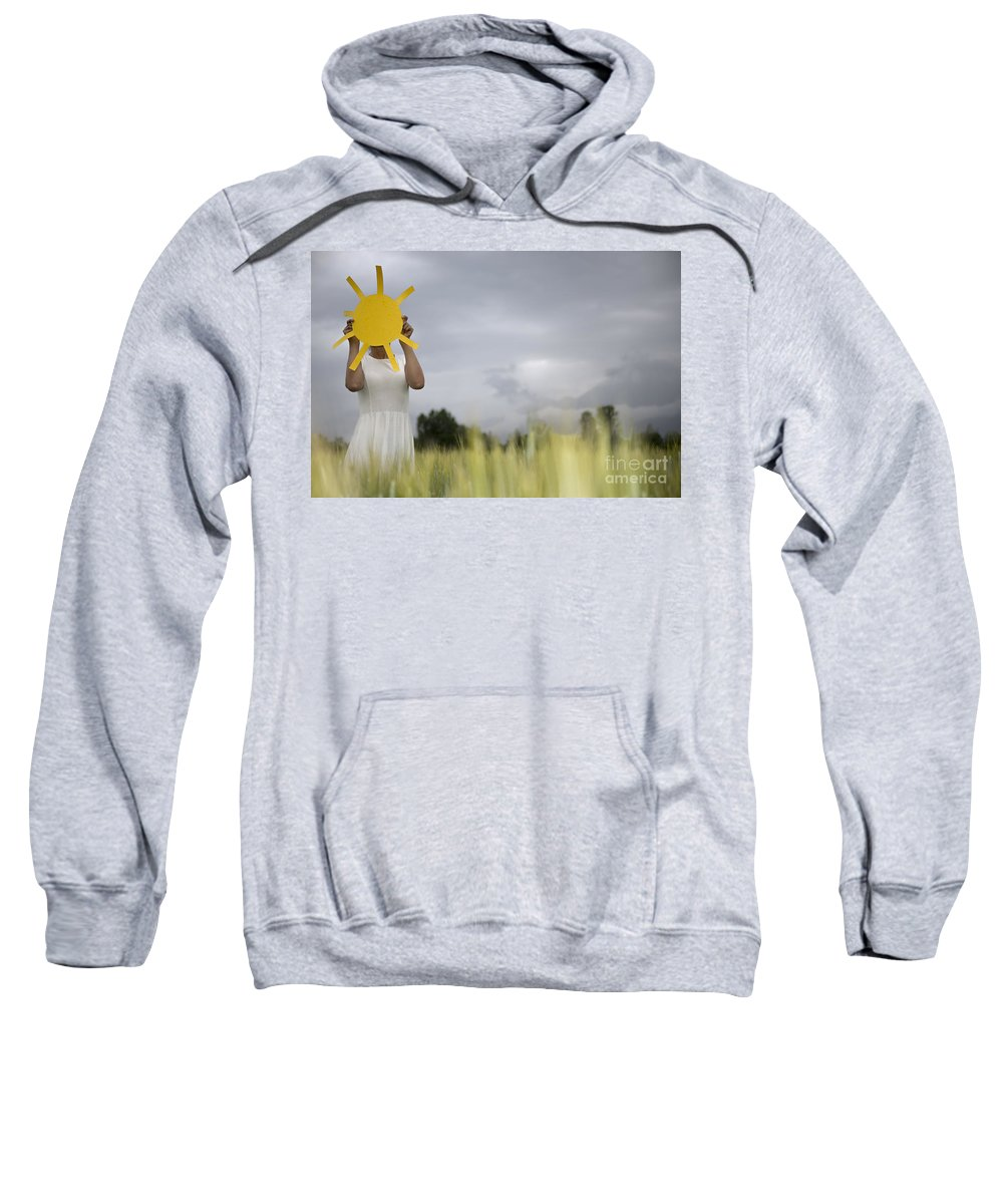 Woman Sweatshirt featuring the photograph Sunshine by Mats Silvan