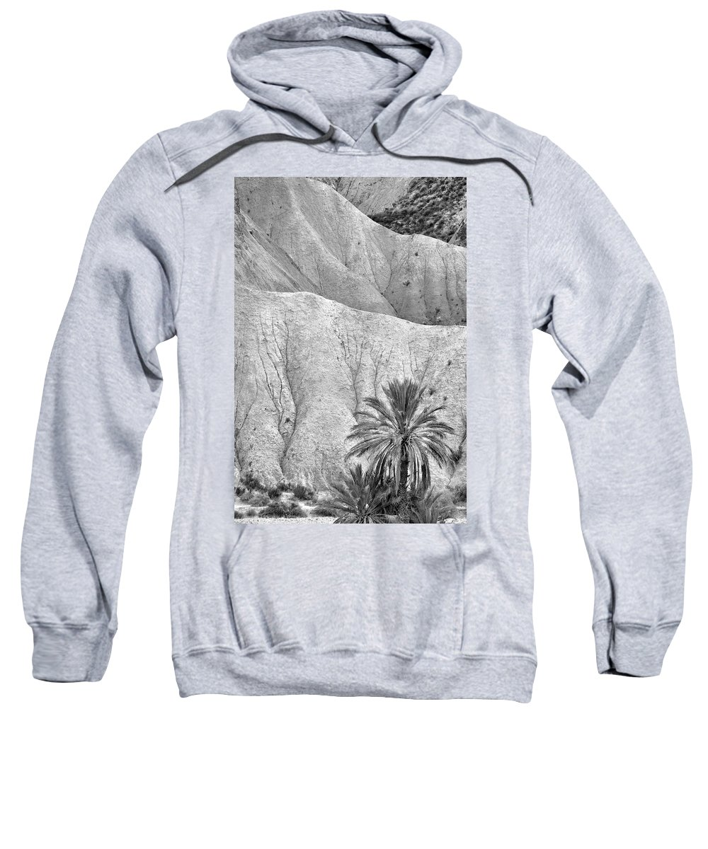 Palm Sweatshirt featuring the photograph Tabernas Desert by Guido Montanes Castillo