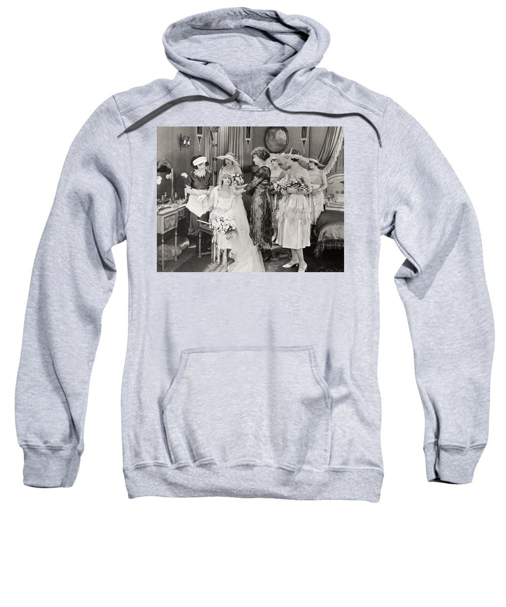 1921 Sweatshirt featuring the photograph The Power Within, 1921 by Granger