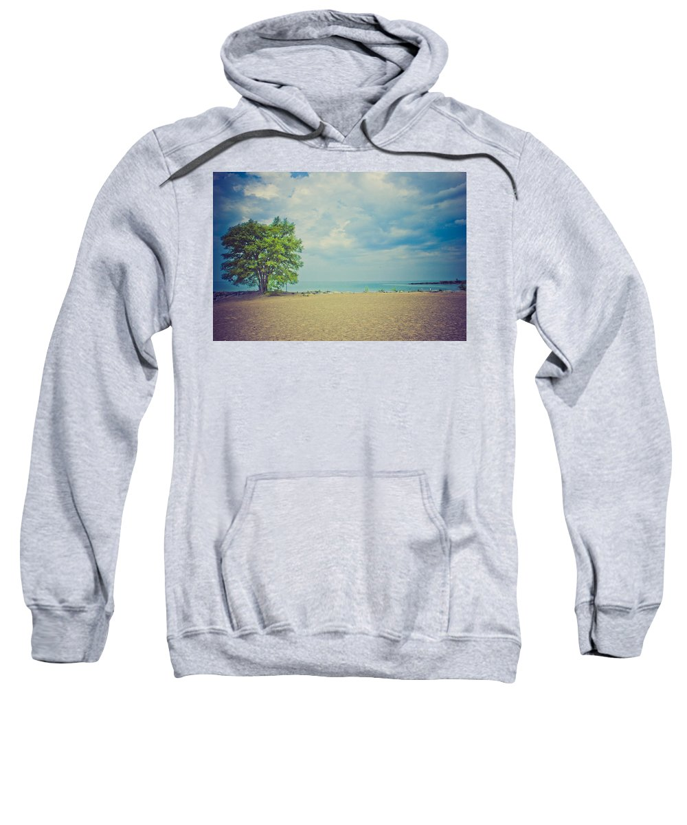 Beach Sweatshirt featuring the photograph Tranquility by Sara Frank