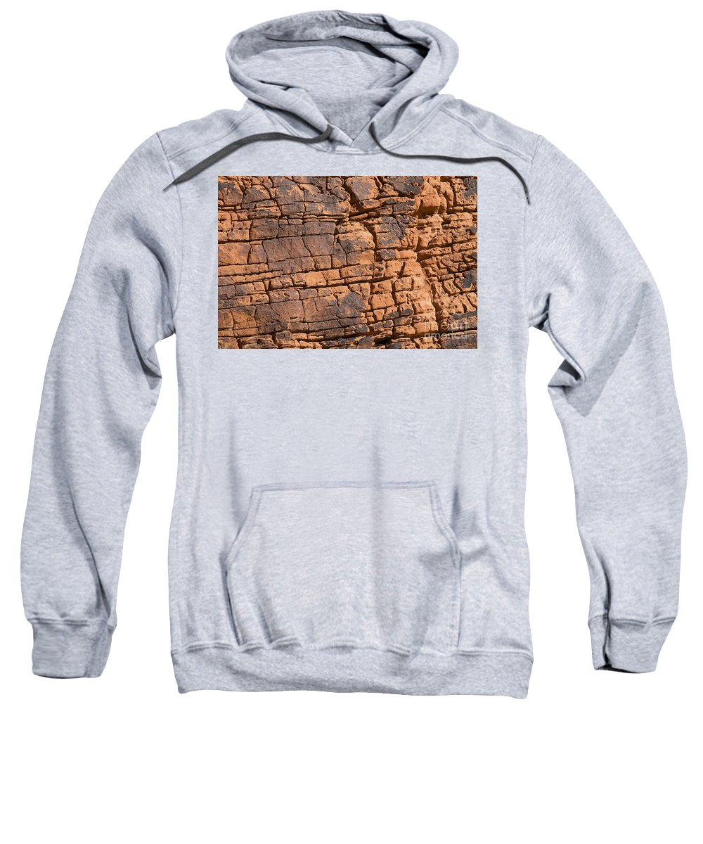 Red Sweatshirt featuring the photograph Valley Of Fire State Park Nevada by Jason O Watson