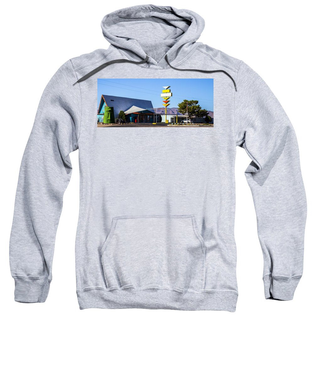 Route 66 Sweatshirt featuring the photograph Watchman by Angus Hooper Iii