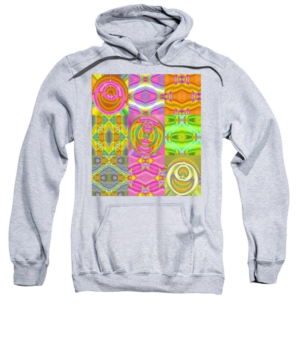 Sweatshirt featuring the digital art 1068 by John Holfinger