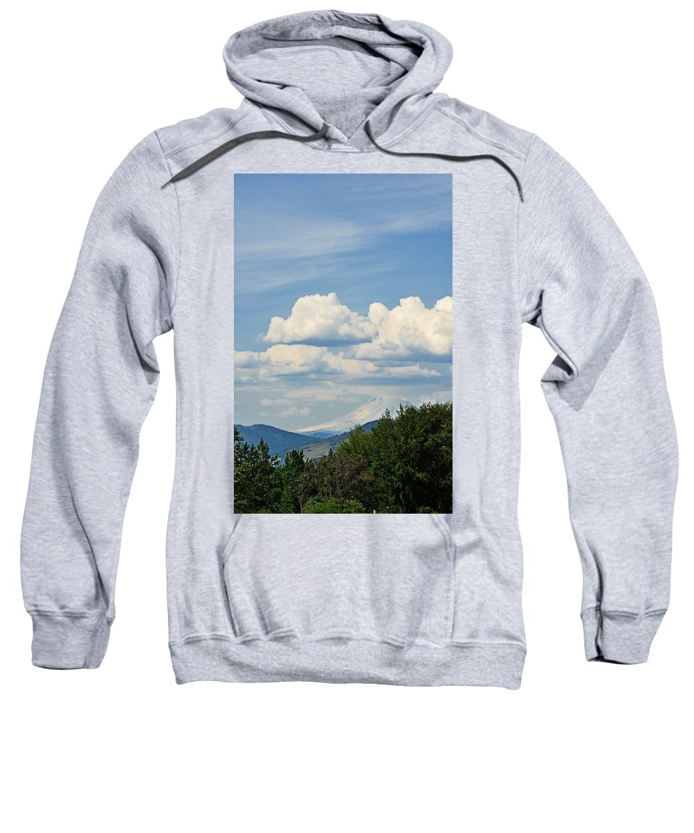 Oregon Sweatshirt featuring the photograph Oregon by Image Takers Photography LLC