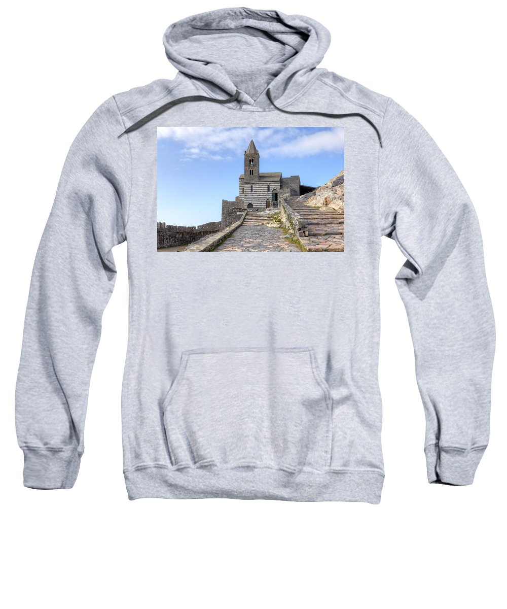 Porto Venere Sweatshirt featuring the photograph Porto Venere by Joana Kruse