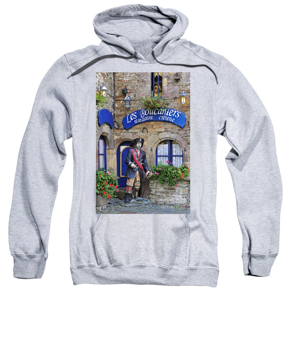 Pirate Sweatshirt featuring the photograph 110202p087 by Arterra Picture Library